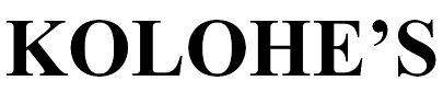 KOLOHE'S|コロフィーズ|PAIRFUM